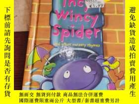 二手書博民逛書店INCY罕見WINCY SPIDER and other nursery rhymesY258499 Lad