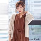 ❖ Autumn ❖ 基本款素面針織罩衫/外套 - Gree