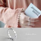 S925純銀 優雅知性 拉絲箭頭戒指-維多利亞180803