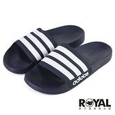 Adidas Adilette Cloudfoam 海軍藍 防水 運動 拖鞋 男款 NO.H3505【新竹皇家 AQ1703】