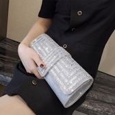 2019新款夏季水鉆手拿包晚宴包名媛手包鑲鉆宴會包派對手拿包包TT1501『麗人雅苑』