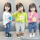 1嬰兒童裝2歲女寶寶秋季T恤3女童春秋裝長袖打底衫4洋氣純棉上衣5 OO644【VIKI菈菈】