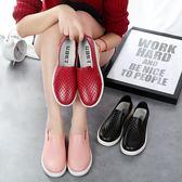 韓國淺口雨鞋女時尚成人低筒短筒防滑防水鞋廚房工作膠鞋情侶夏季  9號潮人館