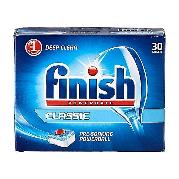 Finish 亮碟強效洗碗球(30顆入) 洗碗機專用【小三美日】
