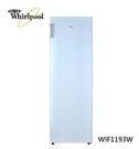 入內特價~~Whirlpool 惠而浦【WIF1193W】193L 直立式單門冰櫃 - 純白色