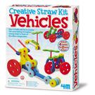 《4M美勞創作》吸管創意 - 汽車樂園 Tubee Creative Kit - Vehicles ╭★ JOYBUS玩具百貨
