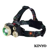 【超人生活百貨】KINYO 超亮LED五燈頭燈 LED-728 停電應急、登山露營、郊遊烤肉、防颱準備