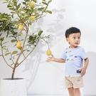男童短T 小童彩色車車上衣,95/100可穿【WB0001】
