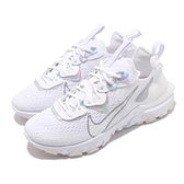 Nike 休閒鞋 Wmns NSW React Vision Essential 白 灰 女鞋 【ACS】 CW0730-100
