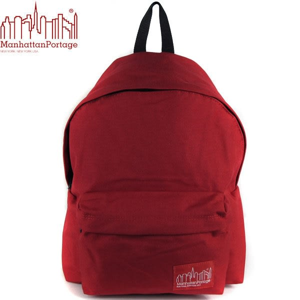 Manhattan Portage 曼哈頓 後背包 潮流經典款 1210-RED 紅色 得意時袋