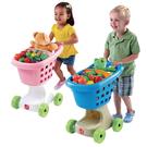 【華森葳兒童教玩具】扮演角系列-Step2 購物車-藍色 A4-700000/粉色 A4-708500