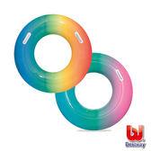 《Bestway》36吋彩虹泳圈(1入)顏色隨機出貨 36126