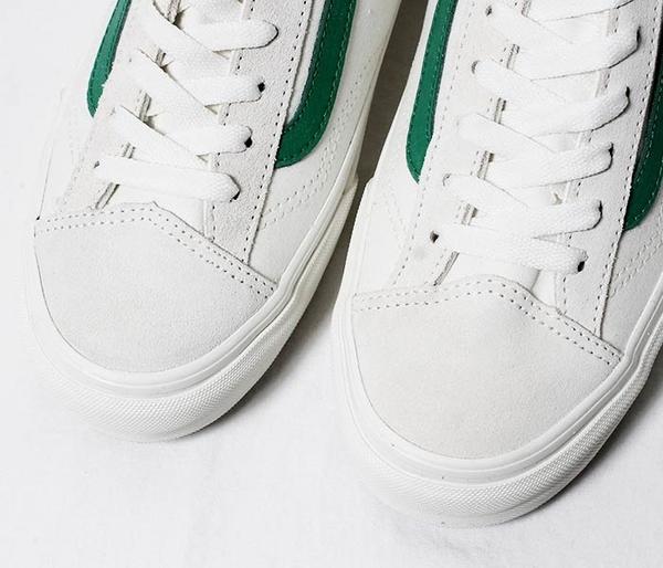 IMPACT VANS Style 36 Old Skool 白 綠 滑板鞋 GD著用款 運動 男女 休閒 VN0A3DZ3RFX