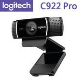 【免運費】Logitech 羅技 C922 Pro 網路攝影機 / 1080P串流 / 3 個月免費高級 XSplit 授權