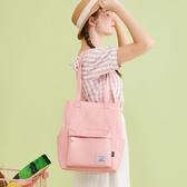 手提包帆布包女單肩簡約布袋包韓版帆布袋日系學生文藝大容量手提包【快速出貨】