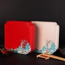 普洱茶餅包裝盒空禮盒通用357g茶餅收納盒福鼎白茶空盒餅茶盒鐵盒