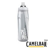 Camelbak 620ml Ice酷冰保冷噴射水瓶 雪白【好動客】