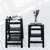 梯子家用摺疊樓梯椅 全實木梯子椅子多功能兩用步階梯凳梯子凳子木梯FA