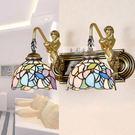 設計師美術精品館歐式田園地中海美人魚雙頭壁燈/鏡前燈/床頭燈燈飾燈具YY093-6