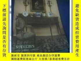 二手書博民逛書店SOTHEBY,S罕見1998 The Winter Sale Furniture,Decorations,Jew