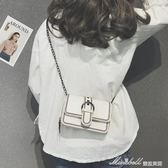 ins超火上新包包女新款潮韓版時尚鍊條小方包百搭斜挎單肩包             蜜拉貝爾