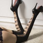 蝴蝶結長筒襪防勾絲高筒襪性感顯瘦印花絲襪過膝防滑大腿