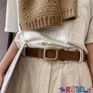 皮帶 腰帶女簡約百搭時尚新款牛皮皮帶洋氣休閒潮流年輕人褲腰裝飾 寶貝計畫 618狂歡