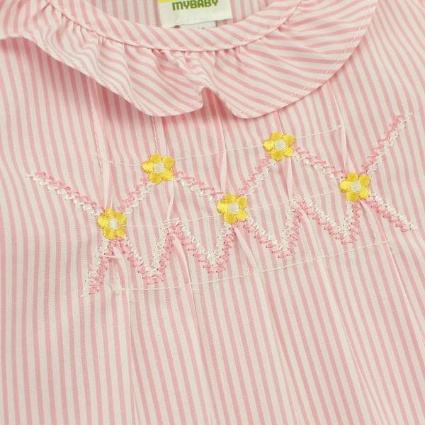 【愛的世界】純棉洋裝兩件式包屁衣套裝/6個月/2歲-台灣製-  - ---幼服推薦