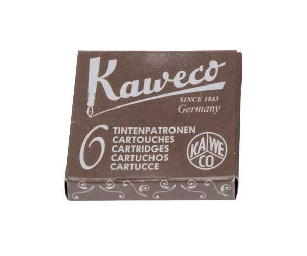 德國KAWECO咖啡色彩色墨水管3盒入