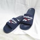 REEBOK FULGERE SLI 拖鞋 公司貨 FZ0946 男款 藍 深藍 大尺碼【iSport愛運動】