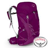 【美國 OSPREY】TEMPEST 30 透氣健行背包 28L XS/S『神秘紅』10000876背包.健行.防雨罩.多口袋.旅遊
