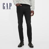 Gap男裝 簡約風格直筒型五袋牛仔褲 618961-水洗黑