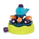 【奇買親子購物網】美國B.Toys 鯨喜噴泉