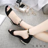 平底涼鞋女夏季新款孕婦女式鞋 米蘭世家