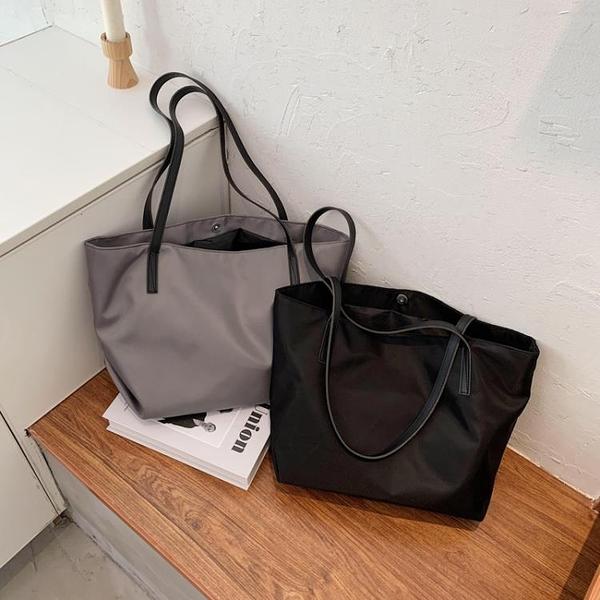 2021新品促銷 大容量包包新款時尚單肩托特包女高級感百搭簡約休閑手提包