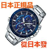 免運費 日本正規貨 CASIO 卡西歐手錶 EDFICE EQB-900DB-2AJF 太陽能藍牙智能手錶 時尚商务男錶 防水