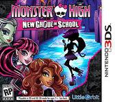 3DS Monster High New Ghoul in School 魔物最棒:新食屍鬼的學校(美版代購)
