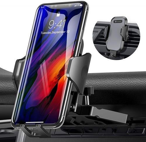 【美國代購】VICSEED NEWEST CD 插槽和通風孔通用手機架 適用於 iPhone Galaxy