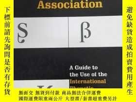 二手書博民逛書店Handbook罕見of the International Phonetic Association : A G