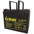 廣隆 LONG 12V 36Ah 電池 ...