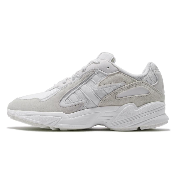 【六折特賣】adidas 休閒鞋 Yung-96 Chasm 灰 米白 老爹鞋 男鞋 【ACS】 EE7238