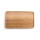 竹製茶盤-長方