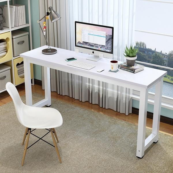電腦桌 長條桌靠墻窄桌家用臥室桌書桌學習桌長方形桌簡易辦公桌子TW【快速出貨八折鉅惠】