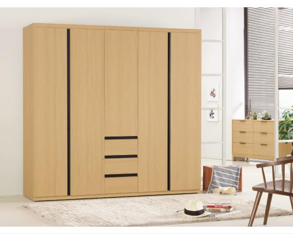 衣櫥【YUDA】達拉斯 2.7尺 衣櫥(收納.附活動隔板三片)/衣架/衣櫃 J8M 114-1