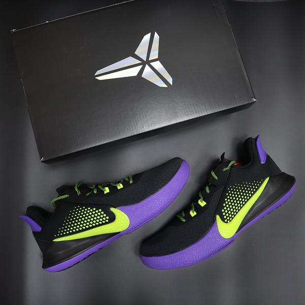 【折後$3180】NIKE Mamba Fury EP 黑紫 螢光綠 男鞋 Kobe 老大 運動鞋 籃球 CK2088-003