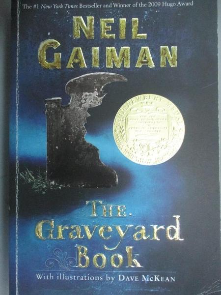 【書寶二手書T7/原文小說_OIB】The Graveyard Book_Gaiman, Neil/ McKean, D