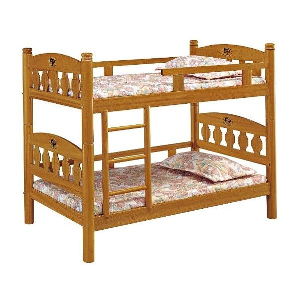 雙層床 AM-361-1 3.5尺鳥心石色雙層床(不含床墊) 【大眾家居舘】