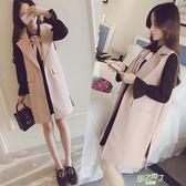 (全館88折)洋裝 大尺碼女裝春秋裝新品外套連身裙洋裝兩件套套裝