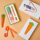 跳繩兒童蘿蔔跳繩中小學生 生日禮物玩具卡通可調節禮盒花樣跳繩