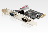 [ 中將3C ]   UPMOST 登昌恆 UTB312 2-Port RS-232擴充卡   UTB-312